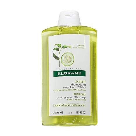 Klorane APF-129, Champú con pulpa de cítricos, 400 ml