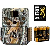 Browning Trail Cameras BTC-5HDP Strike Force HD Pro Combo with Browning 8GB SD Card & Browning Batteries