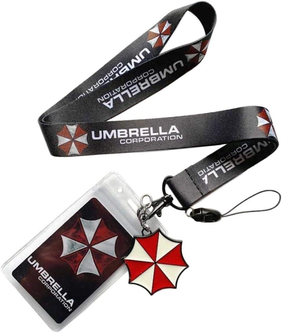 Resident Evil Themed Cosplay ID Holder LANYARD Keychain