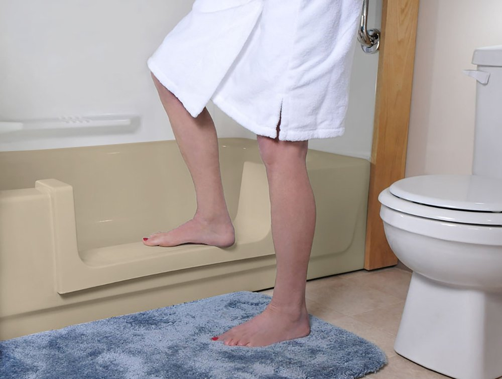 Amazon.com: CleanCut Step Bathtub Accessibility Kit - Convert Tub to ...