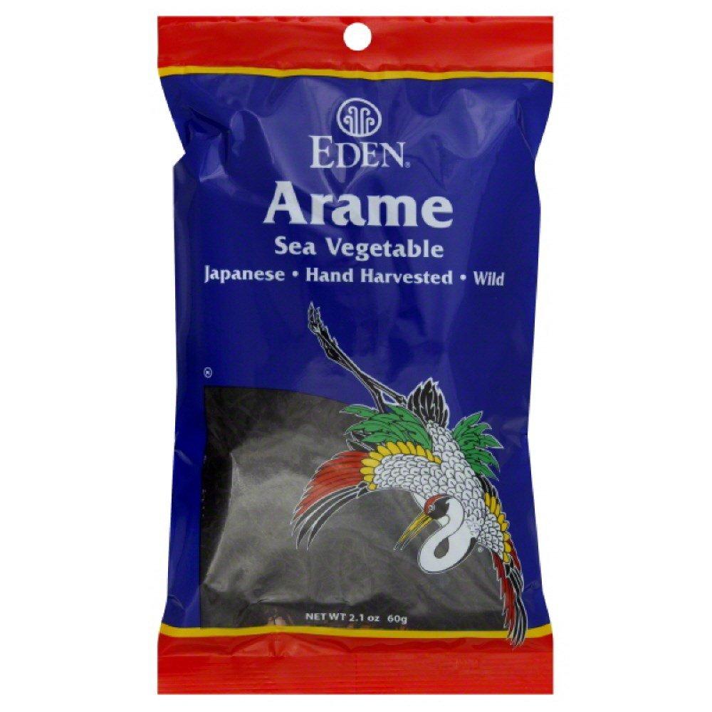 EDEN FOODS SEAWEED ARAME WILD, 2.1 OZ by Eden