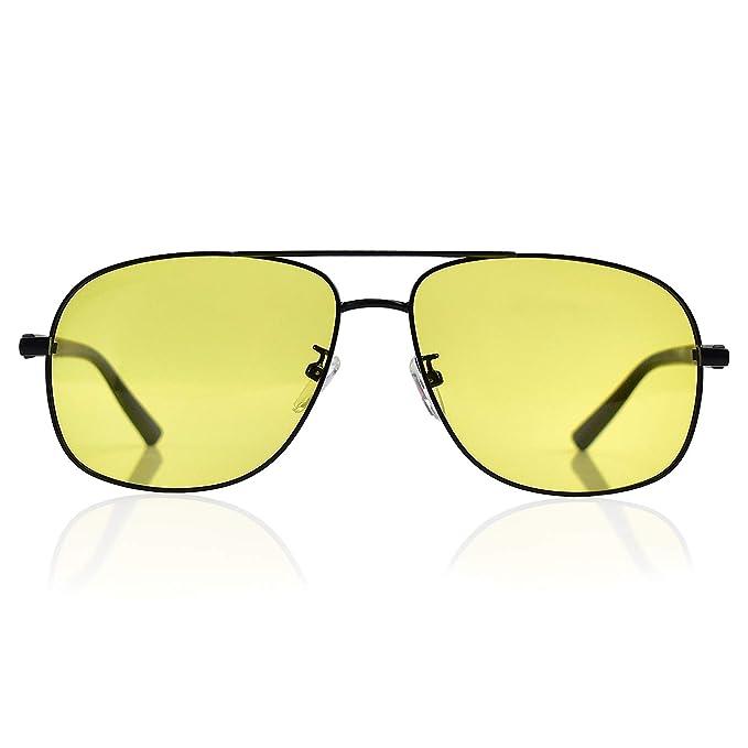 Amazon.com: BEDO Visión Nocturna Gafas para Conducción HD ...
