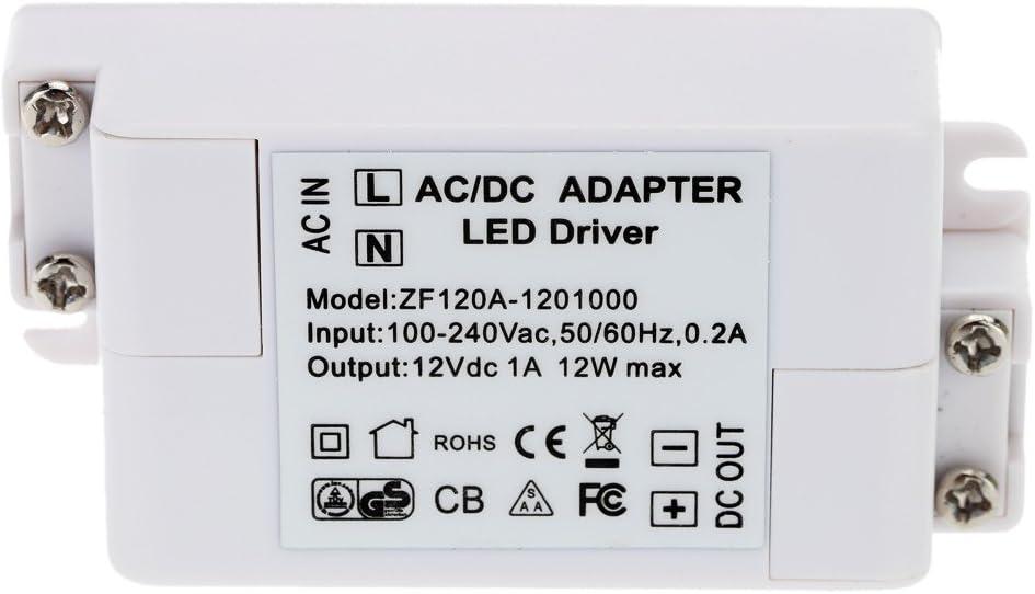 EFORLIGHTING AC100-240V DC12V1A SMD LED 드라이버 전원 변압기 MR11   G4   MR16   GU5.3 전구 12W