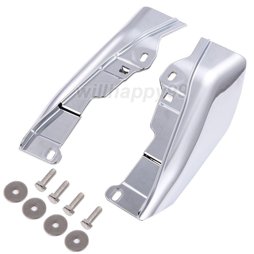 Chrome ABS Mid-Frame Air Deflectors