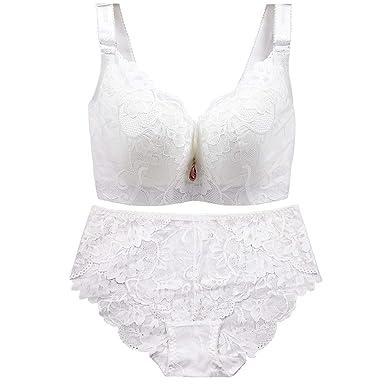 e479a92d3f12d Plus Size Push Up Bras Panty Set Wide Back Underwire Lingerie C D Cup  XXXXL