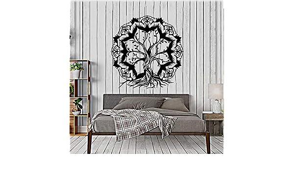 Shentop Flor de Loto Abstracto Árbol de la Vida Ramas Etiqueta ...