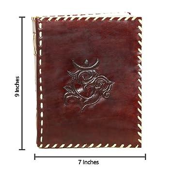 Imperial Vintage piel hecho a mano diario, cuaderno, agenda ...