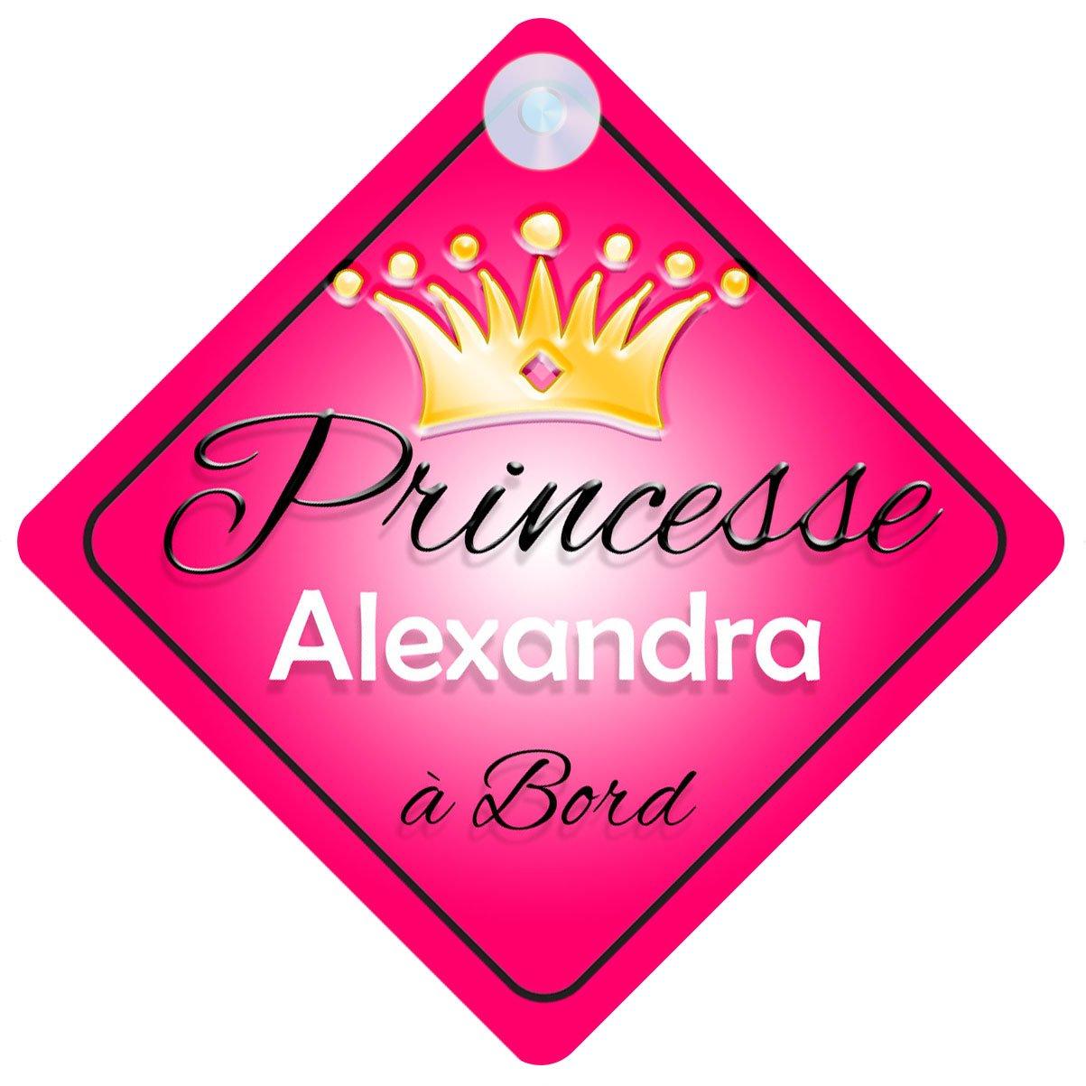Princesse 001 Alexandra Signe Pour Voiture Enfant/Bébé à Bord Quality Goods Ltd