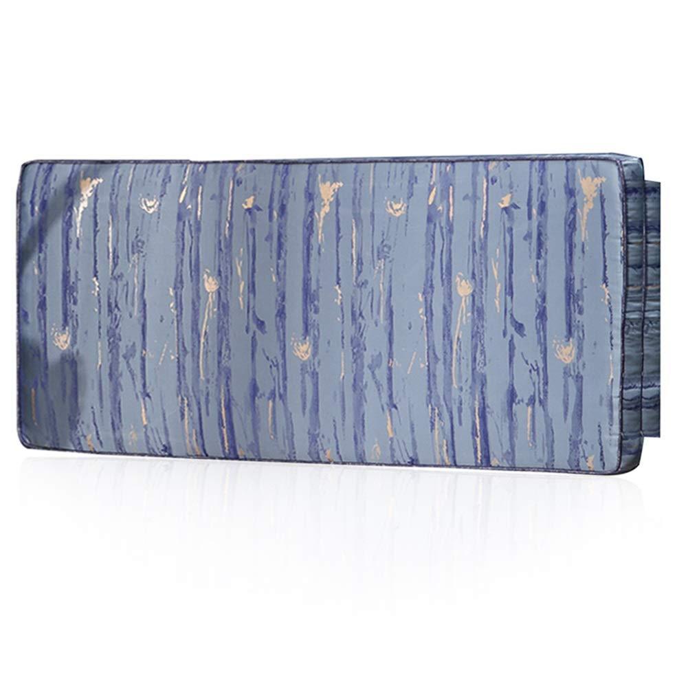 CM) さいず : サイズ クッションベッドの背もたれダブル人物エクストララージベッド背もたれ洗える背中スポンジ塗り潰しキューボイド、6色、8サイズ (色 Blue#A LIANGLIANG 180x55x8 180x55x8 : B07KDF3VZJ Blue#A, CM