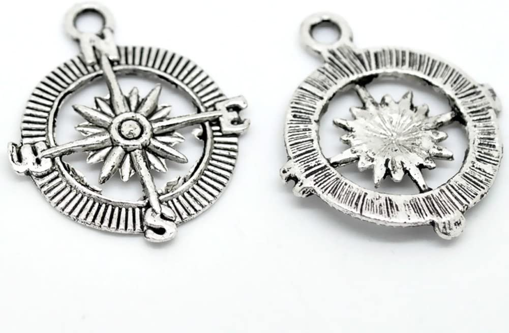 Big Ben Charm//Pendant Tibetan Antique Silver 25mm  7 Charms Accessory Jewellery