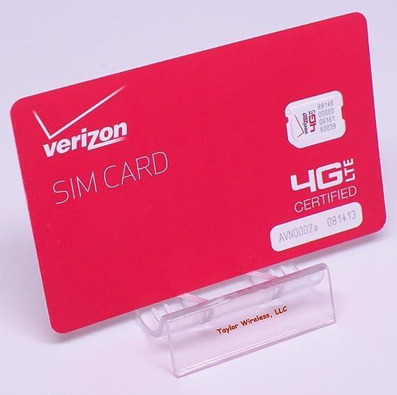 Iphone Se Sim Karte.Verizon Nano Sim Card 4ff Non Nfc For Iphone X Xr Xs Max 8 8 Plus 7 6 5 Se Ipad Air With Trendon Sim Ejection Tool