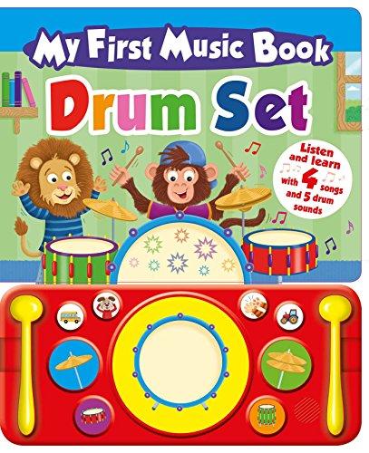 My First Music Book: Drum Set (Sound Book)