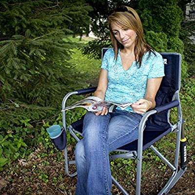 GCI Outdoor Freestyle Rocker Portable Folding Rocking Chair, Cinnamon : Sports & Outdoors