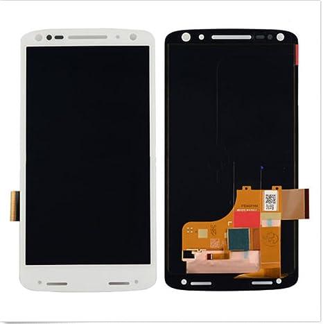 Motorola Droid Turbo 2 xt1580 xt1581 xt1585 pantalla en Juego completo LCD repuestos para reparación de