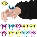 Eye Finger Puppets, Eye Finger Puppets Googly Eyes Rings Eyeball Ring Eye Ring Toys Children's Toys for Kids Party Favor Easter Toys, 25 PCS