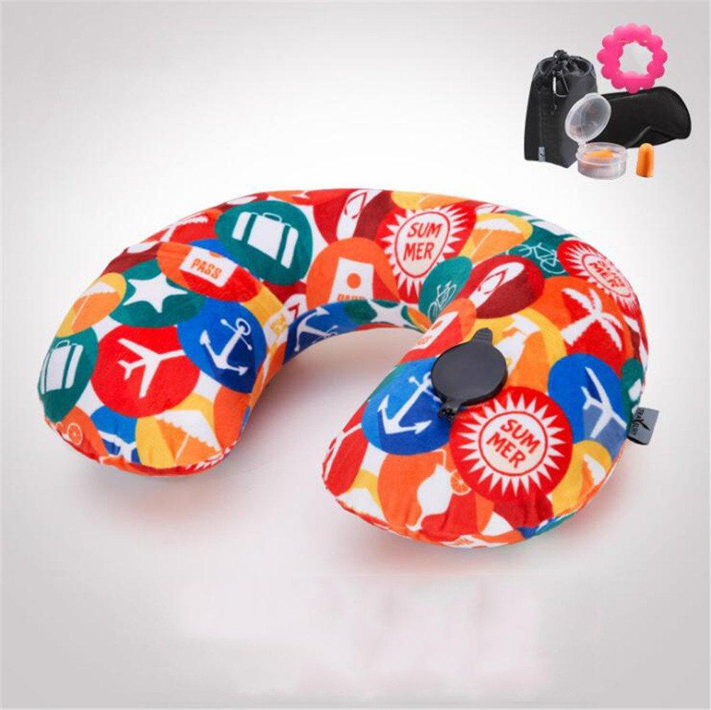 Wmshpeds U-almohada inflable, viajes aéreos, piscina hinchable ...