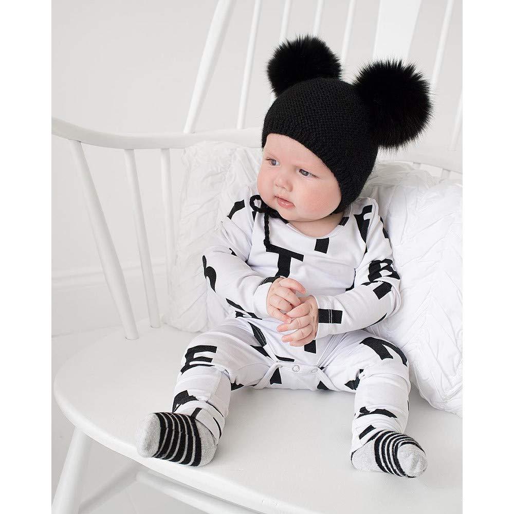 Neugeborenen Baby Jungen M/ädchen Strampler Overall Kleidung Outfits feiXIANG Langarm Spielzeug Bekleidung