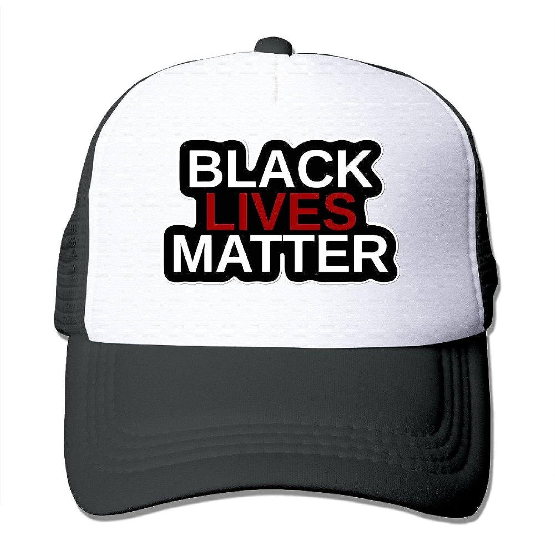 OAO Black Lives Matter Adjustable Mesh Baseball Hats Caps