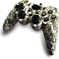 GAMEMON Double Vibration Wired Controller Compatible with Playstation 3 PS3 with 3M/10FT Cable