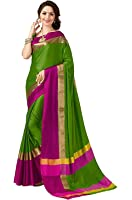 Indian Beauty Cotton Silk Saree with Blouse Piece