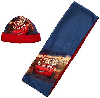 Disney - Conjunto de gorro y bufanda para niño, talla 54 cm ...
