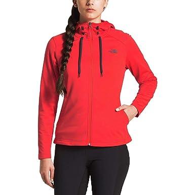 6f6da2521 The North Face Women's Tech Mezzaluna Hoodie - Juicy Red - XS