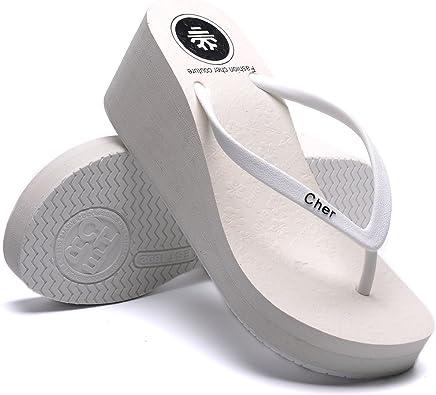 OPIYNO Women Casual White EVA Platform