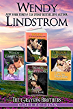 Grayson Brothers Series Boxed Set (4 books): Heartwarming Historical Romance Books