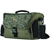 Lowepro Shoulder Bag Nova 200 Aw Ii, Mica and Pixel Camo. Camera Shoulder Bag, Mica (Lp37143-Pww)