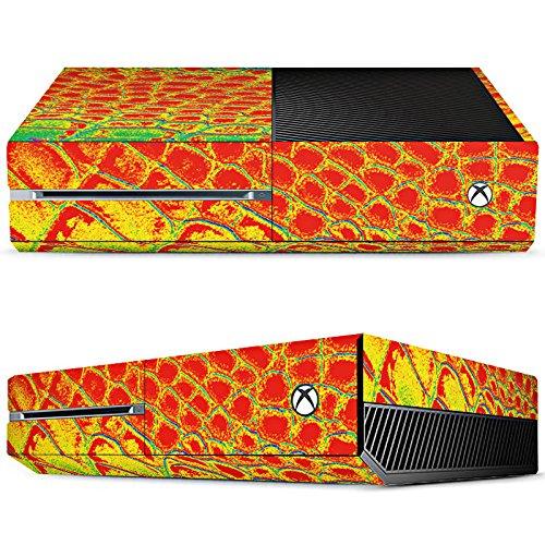 microsoft-xbox-one-skin-vinyl-skin-stickers-protective-film-crazy-reptile