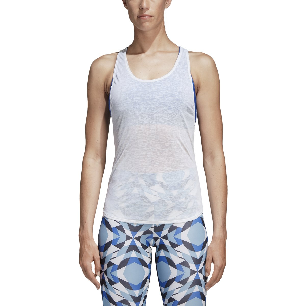 Amazon.com : adidas Womens Wanderlust Yoga Two-in-One Tank ...