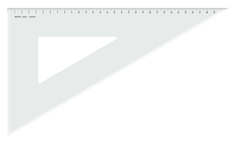 Aristo AR6031F Dreieck 60/° mit Facette