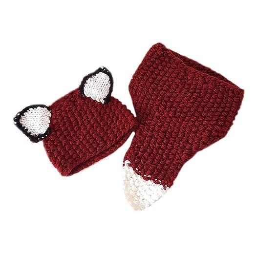 d463ae61cc2ef Amazon.com  Rebecca Unisex Children Knitting Winter Beanie Hat Kids ...