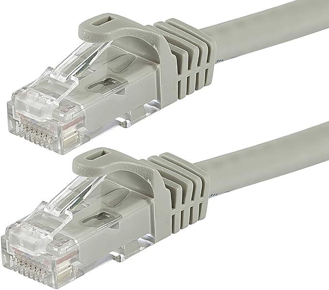 Blue RJ45 Plug Cat5e RJ45 Plug Cat5e Ethernet Cable 73-7792-5 Pack of 20 5 ft 73-7792-5 1.5 m