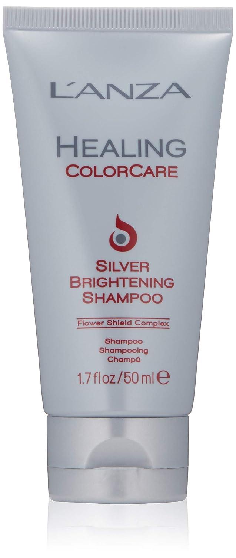L'ANZA Healing Colorcare Silver Brightening Shampoo, 1.7 oz.