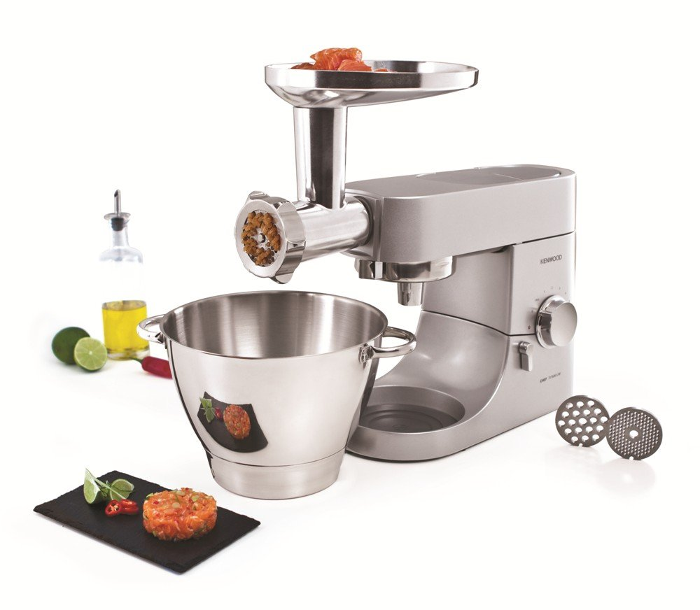 Charming Amazon.com: Kenwood AT950A ATTACHMENT For Multi Food Grinder, Silver:  Kitchen U0026 Dining