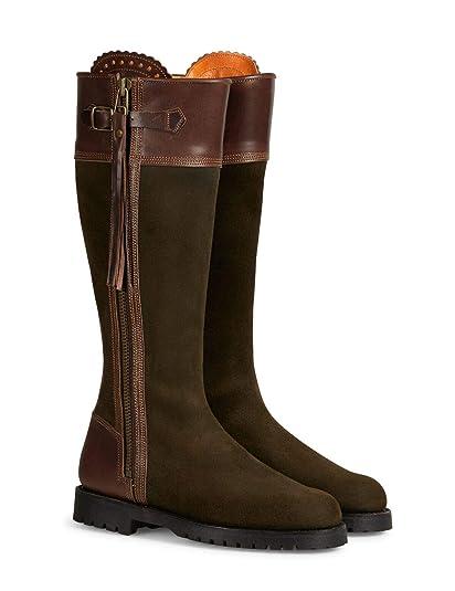 ada7c6e8674 Penelope Chilvers Inclement Long Tassel Womens Boots UK 5 Seaweed Conker   Amazon.co.uk  Shoes   Bags