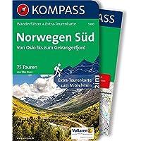 Norwegen Süd, Von Oslo bis zum Geirangerfjord: Wanderführer mit Extra-Tourenkarte 1:50.000-150.000, 75 Touren, GPX-Daten zum Download. (KOMPASS-Wanderführer, Band 5980)