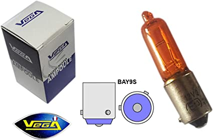 Leuchtmittel Vega H21w Bay9s Halogenlampe Orange 12 V Auto