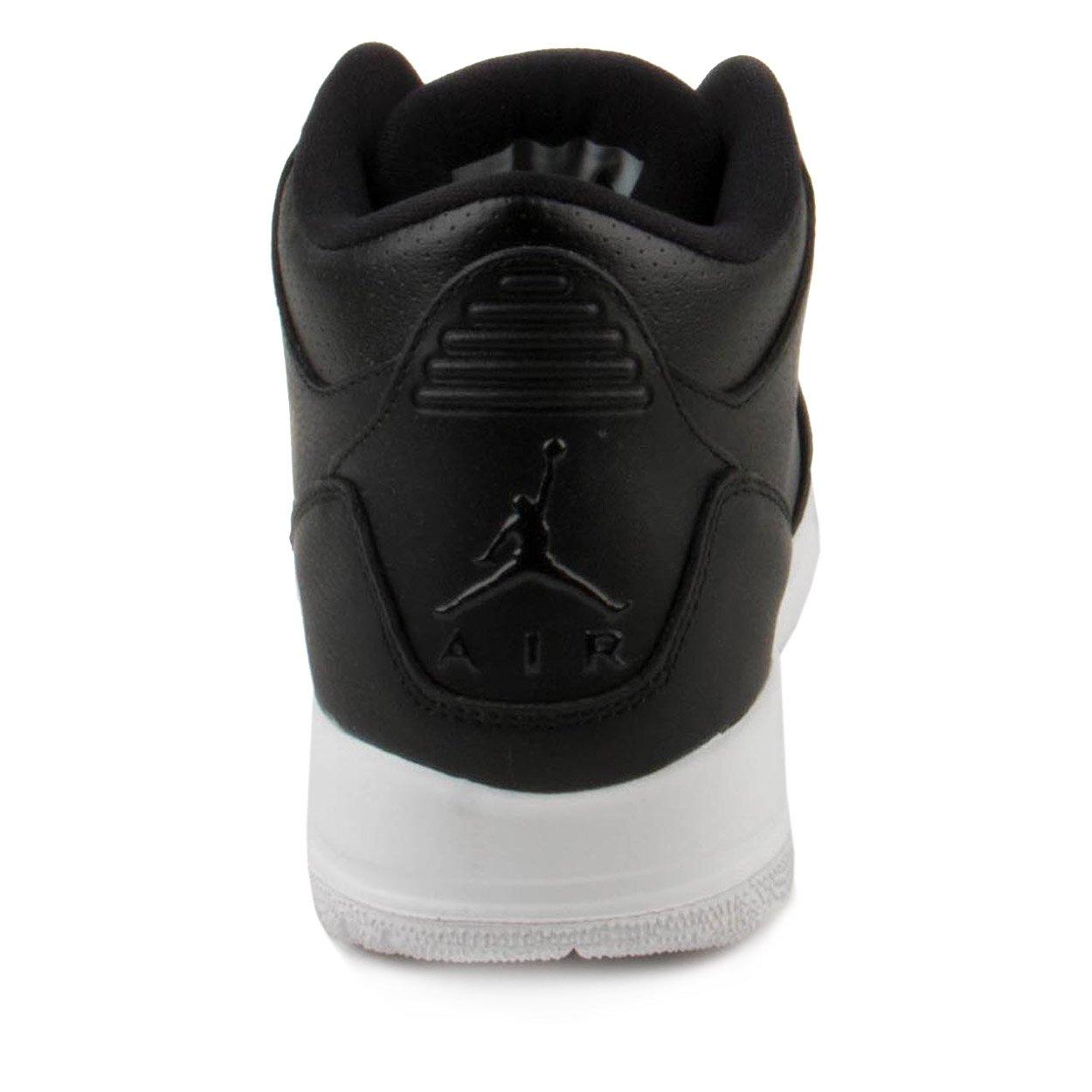 NIKE Jordan Air 3 Retro Bg Boys Basketball Shoes (7Y, Black/Black/White) by Jordan (Image #4)