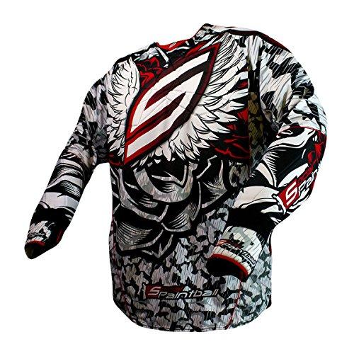 Social Paintball Custom Flex Padded or Unpadded Jersey, Wings Camo -