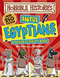 Front cover for the book Awful Egyptians (Horrible Histories) by Terry Deary
