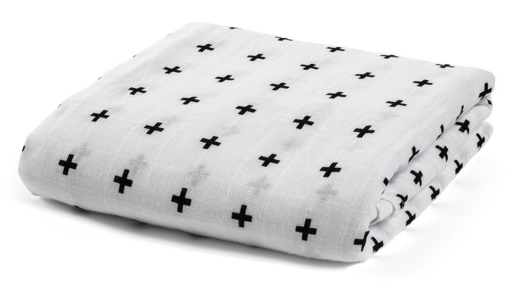 Special Luxuriously Soft Bamboobee Organic Muslin Swaddle Blanket 70% Bamboo 30% Cotton Perfect Baby Shower Gift Receiving Blanket Baby Registry by Bamboobees