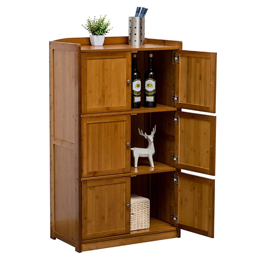 WANGYONG Anrichte, Küche Massivholz-Schrank Mikrowelle Ofen Rack-Simple Storage Locker Tea Cabinet CTGUI (Size : 79x38x120cm)