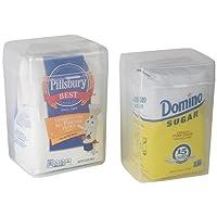 Home-X Set Of 2-1 Flour Keeper