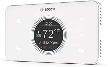 Bosch Thermotechnology Bosch Connected BCC50 Wi-Fi Thermostat-Compatible with Alexa and Google Assistant, All-in-One, Touch Screen, Safety Control, ...
