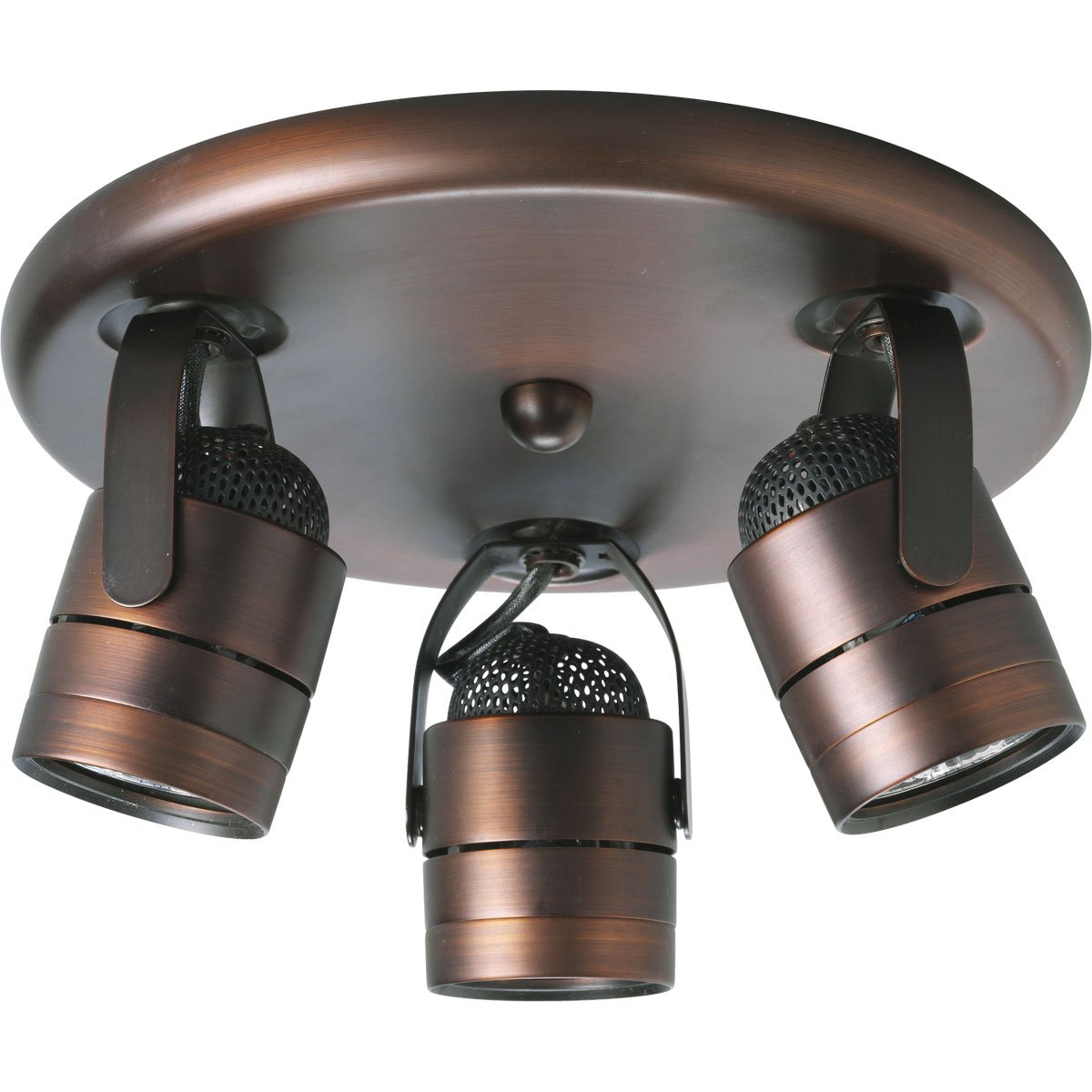 Progress Lighting P6153-174WB 3-Light Pinhole Back Directional, Urban Bronze by Progress Lighting