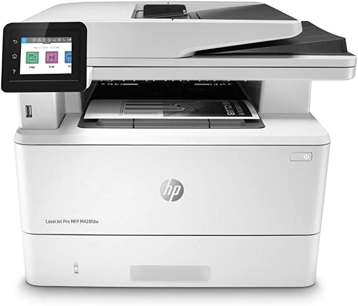 HP LaserJet Pro Multifunction M428fdw Wireless Laser Printer (W1A30A)