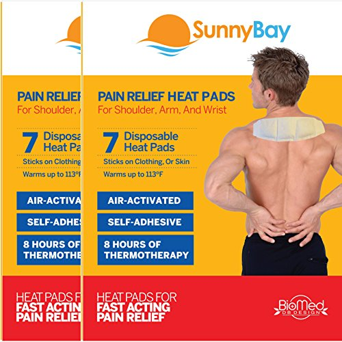 Self Adhesive Neck Shoulder Heat Pads: Air Activated Disposable Heat Therapy Pads for Sore Neck Shoulder Back Pain Relief & Menstrual Cramps - Personal, Non Electric Deep Muscle Hot Pack Compresses (Air Pads Heat Activated Therapy)