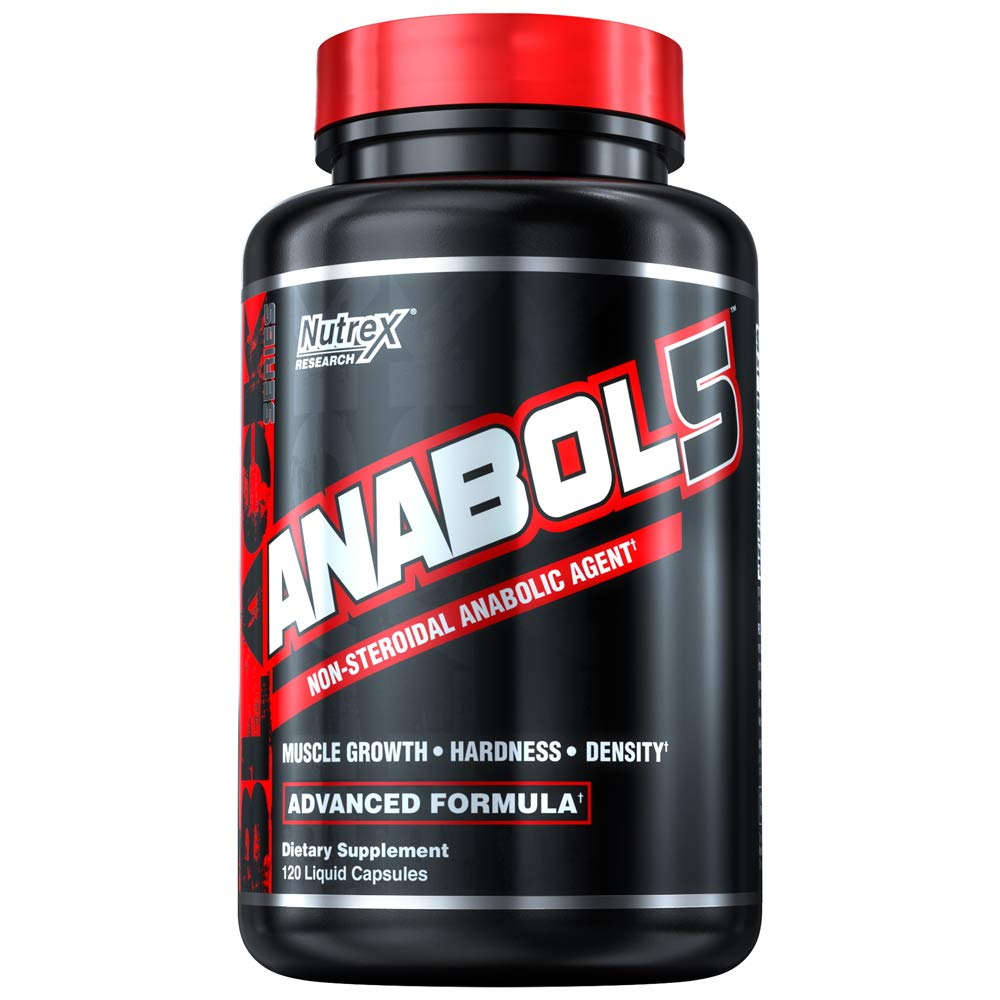 Amazon.com: Nutrex Research Labs, Anabol 5, 120 Cápsulas de ...